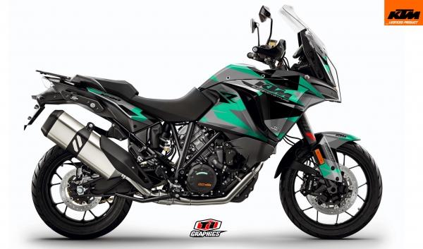 KTM Superadventure 'Camo' Mint