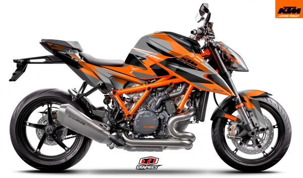 KTM Superduke1290 'Camo-Orange'