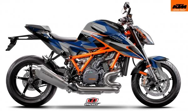 KTM Superduke1290 'Camo-Factoryblau'