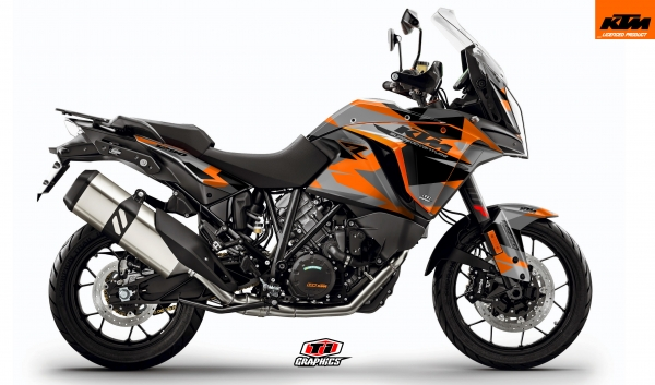 KTM Superadventure 'Camo' Orange