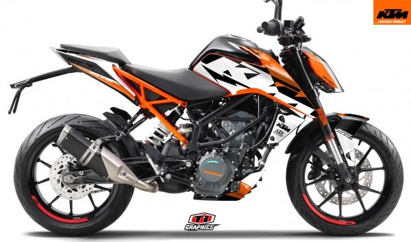 KTM Duke125-390 DSG1 'Orange'