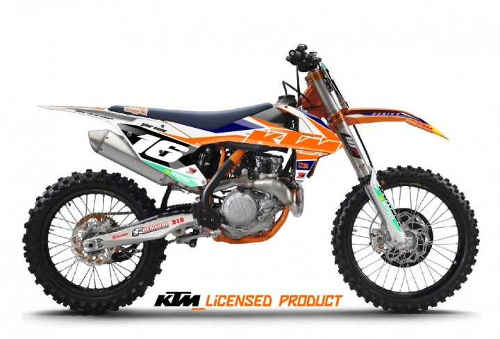 KTM SX/F Dekor 'Full Factory'