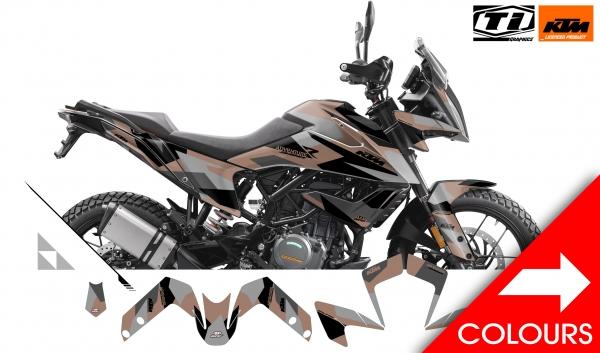 KTM 390 Adventure Dekor 'Camo'