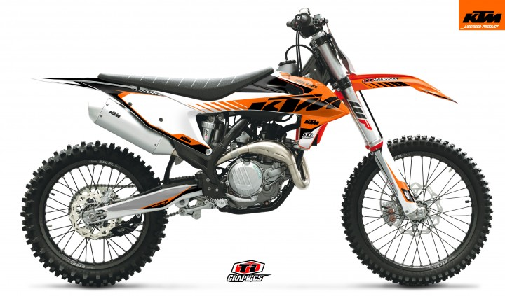 KTM SX/F Dekor 'DSG2 Orange'