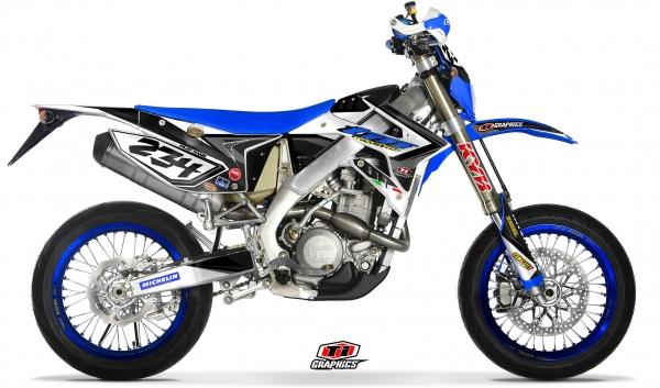 TM Racing 4-Takt EN & SMR Dekor 'DSG1 schwarz'