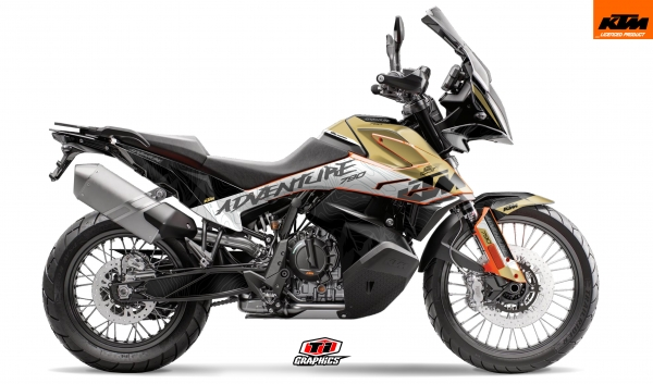 KTM 790 Adventure Dekor 'Highlines Desert'