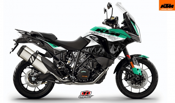 KTM Superadventure 'Highlines' Mint