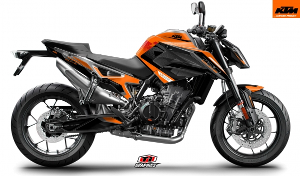 KTM 790 Duke Dekor 'Square - Orange'