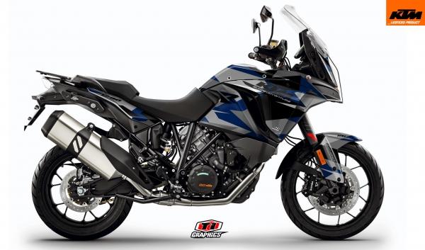 KTM Superadventure 'Camo' Factoryblau