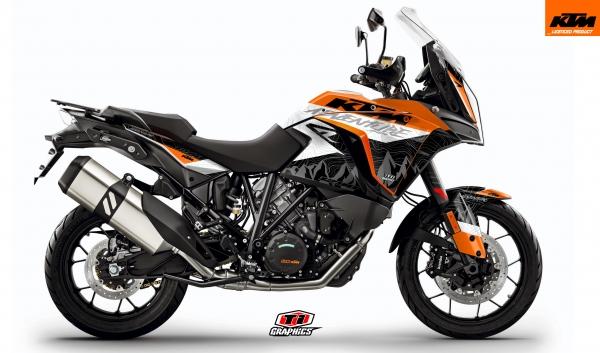KTM Superadventure 'Highlines' Orange